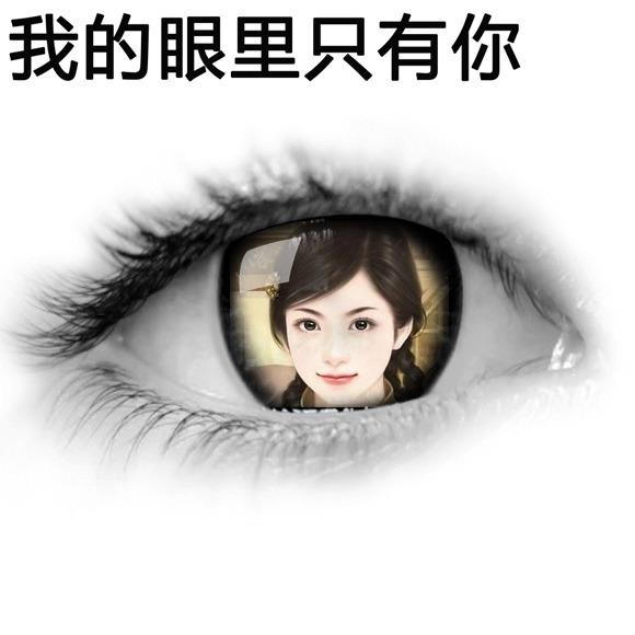 我的眼里只有你
