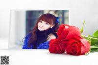 玫瑰献给最爱的人照片合成
