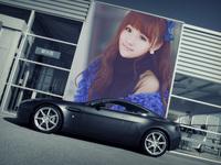 豪车广告照片合成