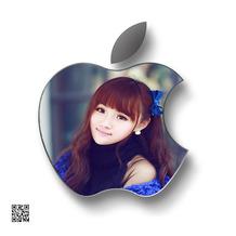 果粉最爱,苹果LOGO照片合成