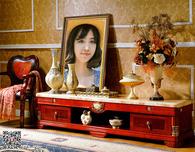 欧式客厅相框照片合成