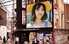 日本札幌街头广告图片合成