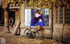 街头秋色照片合成