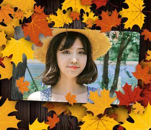 秋天主题照片合成