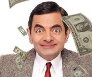 钞票漫天飞舞图片合成