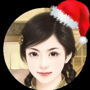 微信头像戴圣诞帽
