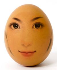 头像合成到鸡蛋